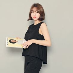 HOTPING - Sleeveless Button-Back Top