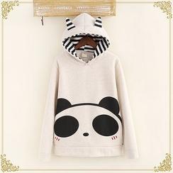 Fairyland - Panda Print Hoodie
