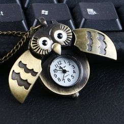 Kaal - Owl Shape Pocket Watch