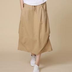 Romantica - Buttoned Midi Skirt