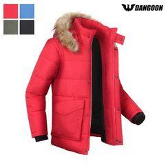 DANGOON - Faux-Fur Hooded Padded Jacket