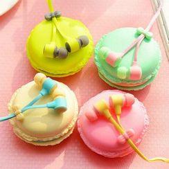 Maltose - Set: Earphone + Macaron Holder