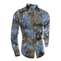 Hansel - Tie-dye Long-Sleeve Shirt