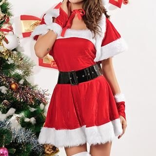 Sexy Romantie - Santa Claus Party Costume
