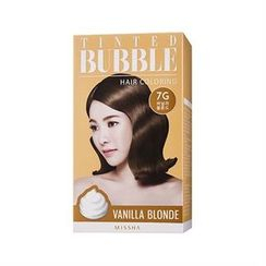 Missha 谜尚 - Tinted Bubble Hair Coloring (#7G Vanilla Blonde)