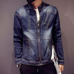 maxhomme - Washed Denim Jacket