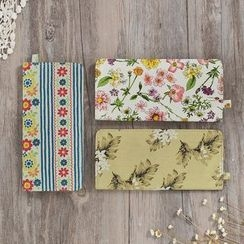 SUPER LOVER - Patterned Cotton Wallet