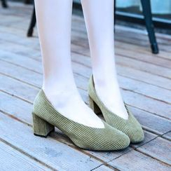 Chryse - Block Heel Pumps