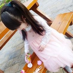 CUBS - Kids Sleeveless Tulle Dress