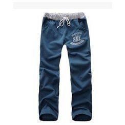 Hansel - Couple Matching Drawstring Pants