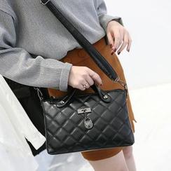 BOLIYASHI - Faux-Leather Paneled Handbag