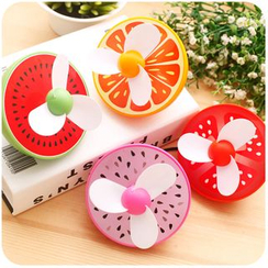 Momoi - Fruit Print USB Rechargeable Fan