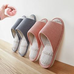 LOML - Linen Slippers