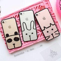 Hachi - Animal Print Phone Case - Apple iPhone 6 / 6 Plus / 7 / 7 Plus