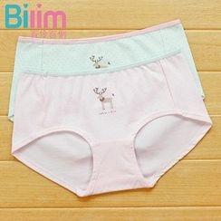 Rikku - Deer Print Panties