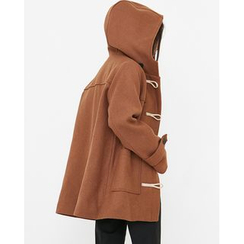 Someday, if - Hooded Wool Blend Duffle Coat