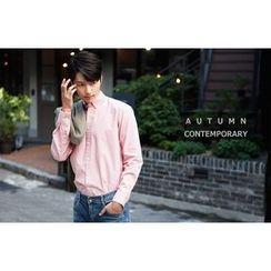 SCOU - Long-Sleeve Cotton Shirt