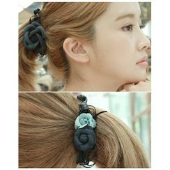 Miss21 Korea - Corsage Asymmetric Hair Clamp