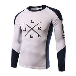 Fireon - Lettering Sports Long-Sleeve Top