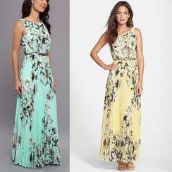 Katemi - Printed Maxi Dress