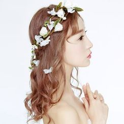 Suaylla - Wedding Floral Hair Band