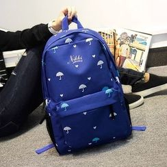Bag Hub - Printed Laptop Backpack