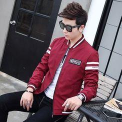 YamYork - Applique Zip Jacket