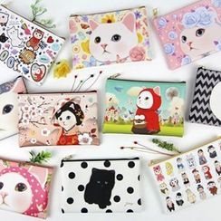 Full House - Cat-Print Pouch