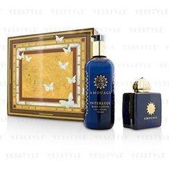 Amouage - Interlude Coffret: Eau De Parfum Spray 100ml/3.4oz + Body Lotion 300ml/10oz