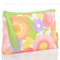 Clinique 倩碧 - Colorful Flower-Print Cosmetics Bag