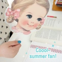 iswas - 'Paper Doll Mate' Series Hand Fan