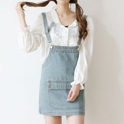 Arroba - Denim Pinafore