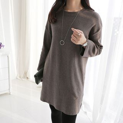 CLICK - Cotton Blend Long T-Shirt