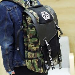 Yiku - Canvas Flip Backpack