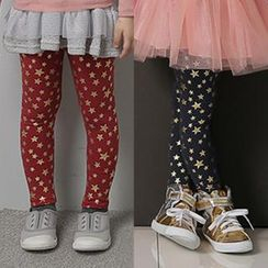 Seashells Kids - Kids Star Print Leggings