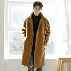 Seoul Homme - Wool-Blend Single Coat