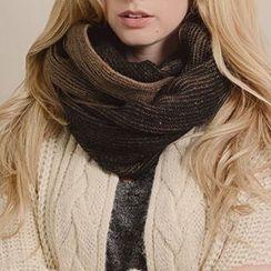 Richcoco - 针织圆圈围巾