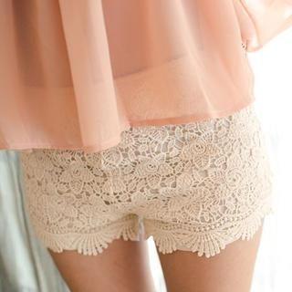 BaseZoo - Lace Shorts