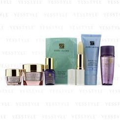 Estee Lauder - Travel Set: Perfectly Clean 30ml + Optimizer 30ml + Night Cream 15ml + Serum 7ml + Eye Cream 5ml + Eye Mask + Lip Conditioner