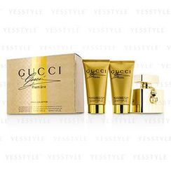 Gucci - Premiere Coffret: Eau De Parfum Spray 50ml/1.6oz + Body Lotion 50ml/1.6oz + Shower Gel 50ml/1.6oz