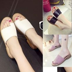 Sleeko - Flat Mule Sandals
