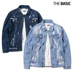 Seoul Homme - Distressed Denim Jacket