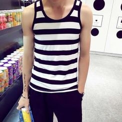 JEUX - Stripe Tank Top