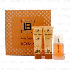 Laura Biagiotti - Roma Coffret: Eau De Toilette Spray 50ml/1.6oz + Body Cream 50ml/1.6oz + Shower Gel 50ml/1.6oz