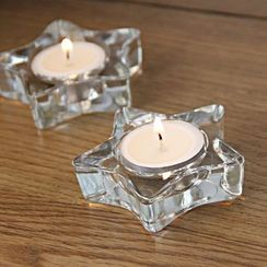 Thula Design - Star Glass Candle Holder