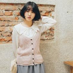 11.STREET - Strappy Knit Vest