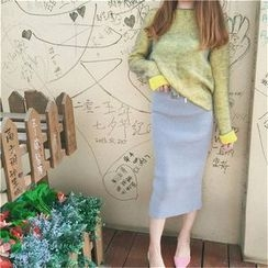 Octavia - Melange Sweater