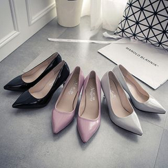 IYATO - Pointy-Toe Kitten-Heel Pumps