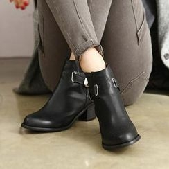 REDOPIN - Buckled Ankle Boots