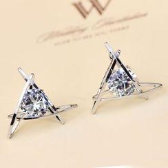 HEDGY - Rhinestone Earrings
